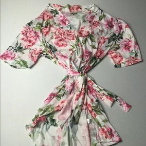 Show me your mumu wrap dress kimono Floral O/S